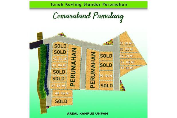 Rp352jt Tanah Dijual