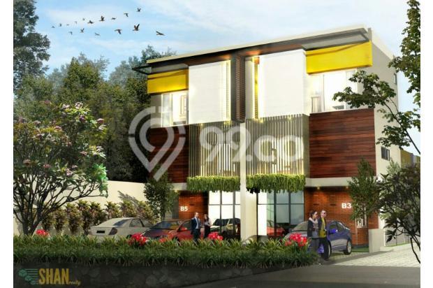 Rumah Kantor (SOHO) Desain Tropical Modern di Sayap Setiabudi Bandung Utara 21674432