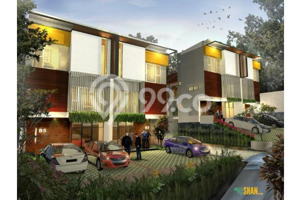 Rumah Kantor (SOHO) Desain Tropical Modern di Sayap Setiabudi Bandung Utara 21674435
