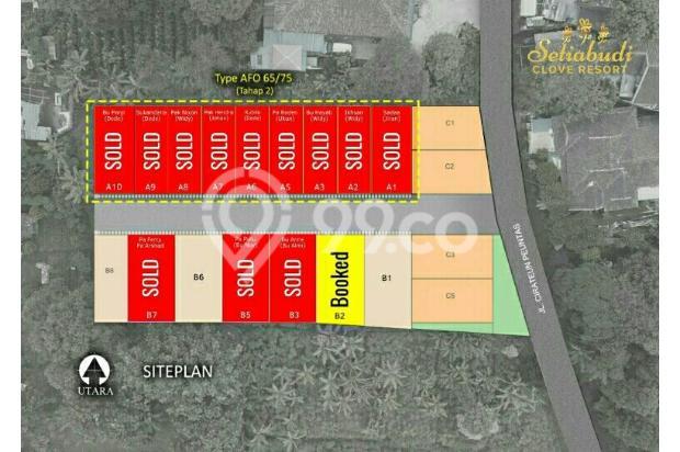 Rumah Kantor (SOHO) Desain Tropical Modern di Sayap Setiabudi Bandung Utara 21674457