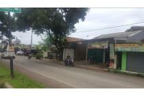 Rumah RUKO tanah di jalan raya SETU depan persis kampus STTD