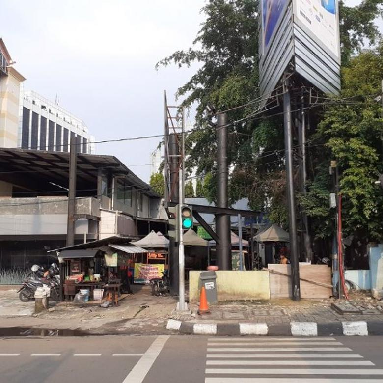 Dijual Tanah  572m2  di Jl. Asia Afrika ,Senayan,Jakarta Pusat