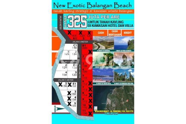 Tanah Kavling Murah Balangan Beach 8831604