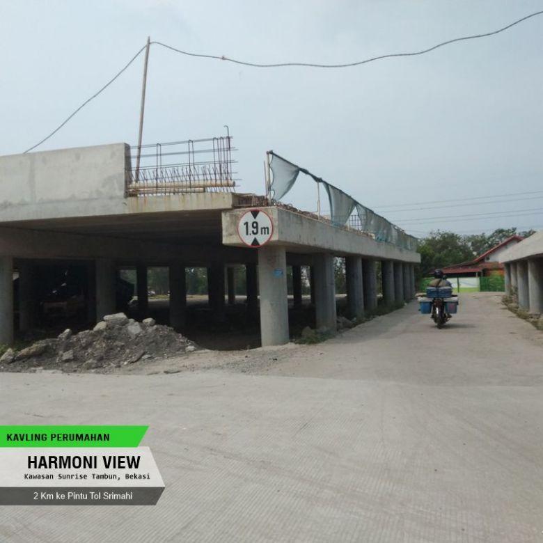 Angsuran 12x, Non Bunga: Harmony View Bekasi, Include Fasum