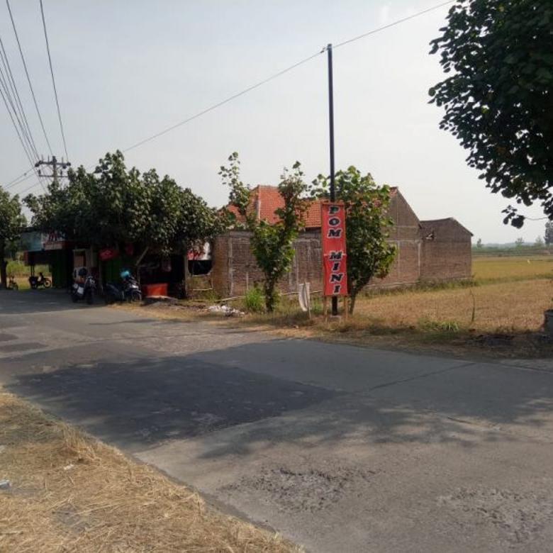 Tanah Sawah SHM di Nogosari Boyolali (DK)