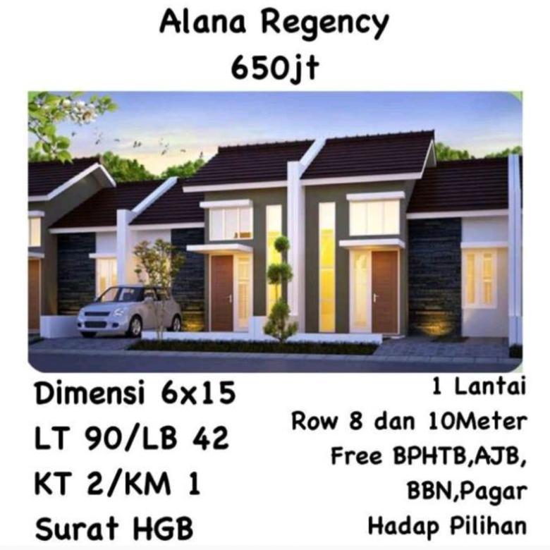 Rumah Alana Regency Tambak Rejo Waru Sidoarjo Start 650 jt