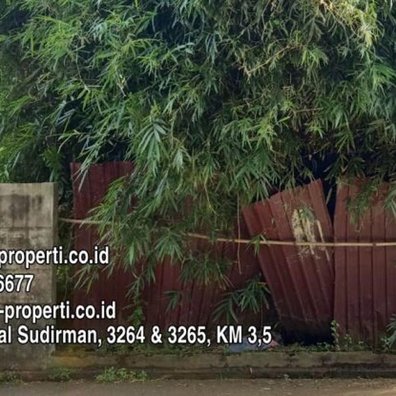 jual Tanah 502 m2 Tepi Jln Rustini dekat Simpang BLK Palembang