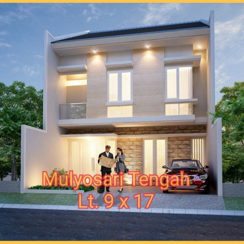 *Rumah Mulyosari Tengah New Modern Minimalis* *