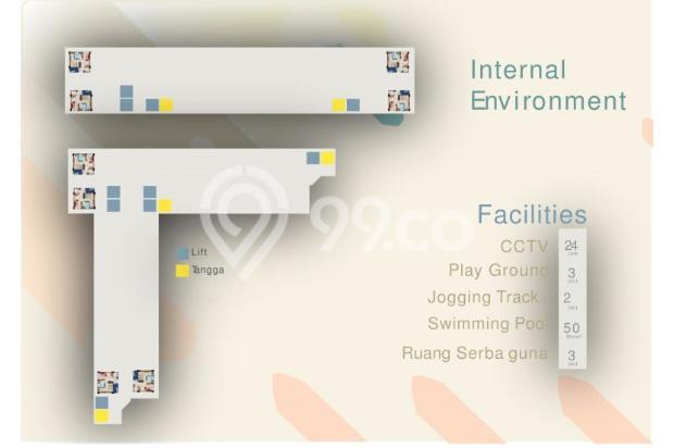 Dijual Apartemen Baru Strategis Harga Murah di Sentraland Antapani Bandung 13188443