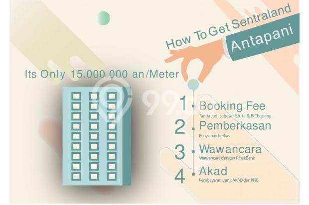 Dijual Apartemen Baru Strategis Harga Murah di Sentraland Antapani Bandung 13188444