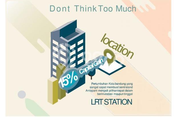 Dijual Apartemen Baru Strategis Harga Murah di Sentraland Antapani Bandung 13188445