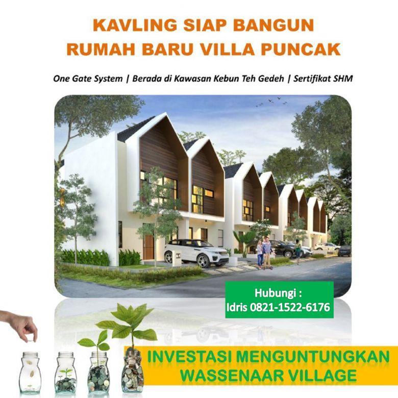 Villa Murah Puncak Desain 2 Lantai Fasilitas BBQ Area