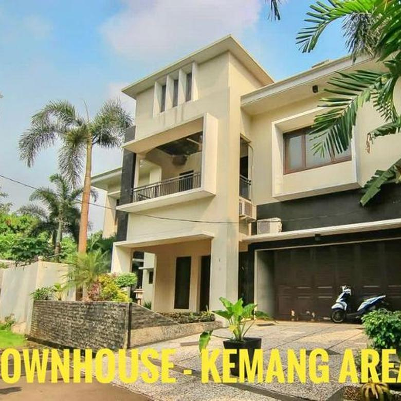 [HOUSE ] townhouse turun harga, MURAHHH.. from 12M ---> now 8M nego @ kemang area
