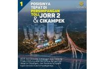 Dijual Apartemen Baru Vasanta Innopark 2 BD @Cibitung, Bekasi