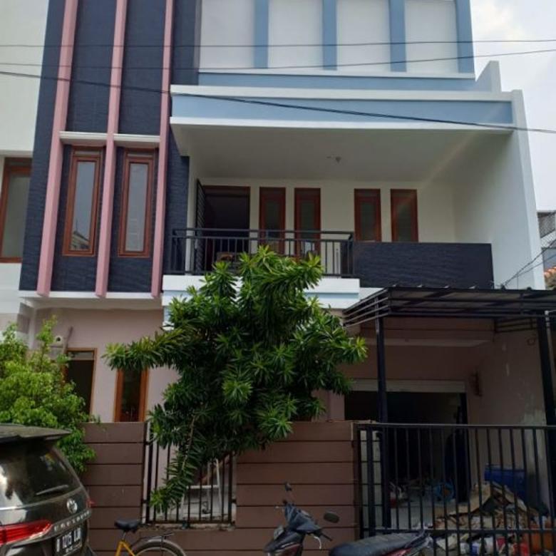 rumah murah dua lantai kelapa cengkir jakarta utara