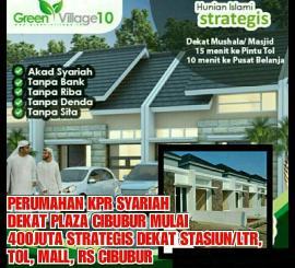 perumahan dijual KPR Syariah 400 jtan (36/52) di Cibubur