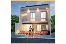 Dijual Rumah Baru Minimalis di Mulyosari Tengah Surabaya