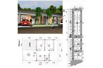 Rumah dijual harga murah 100 jutaan angsuran flat di Malang