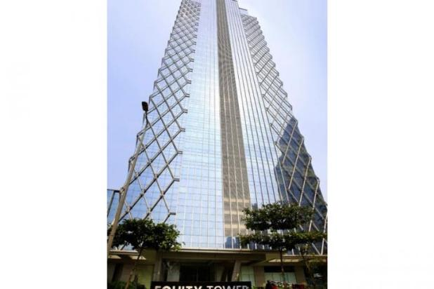 For Rent Equity Tower Office Space SCBD Sudirman uk 217m2 9488855