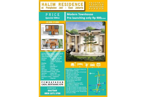 Rumah 900 jutaan, Jakarta Timur, Jatiwaringin, 4 menit akses tol 15036486