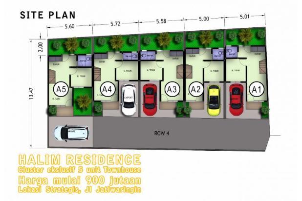 Rumah 900 jutaan, Jakarta Timur, Jatiwaringin, 4 menit akses tol 15036487