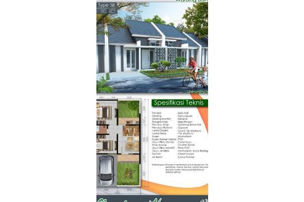 Rp399jt Rumah Dijual