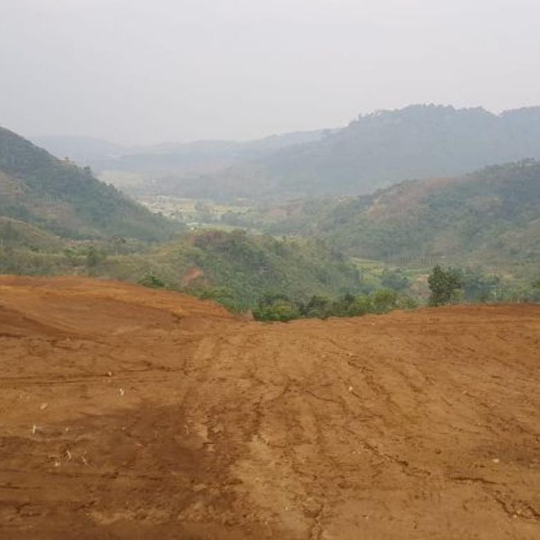 Tanah kavling murah di cipanas puncak. view cantik.shm
