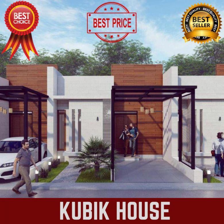 Rumah desain modern kubik house cihanjuang akses tol baros