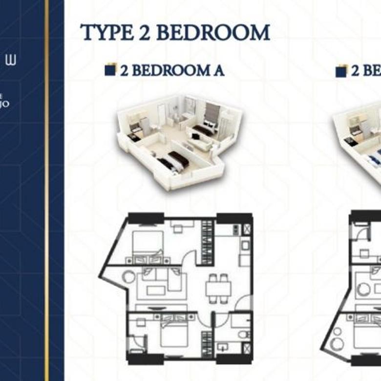 Apartment Belleview Manyar Kertoarjo dkt Klampis