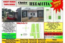 Dijual rumah terracotta 2 hunian strategis