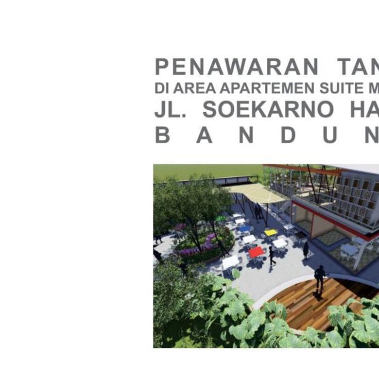 Tanah Area Komersial Apartemen Metro Suite soekarno hatta bandung