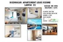 Disewakan Apartemen Louis Kienne Pandanaran hks6083