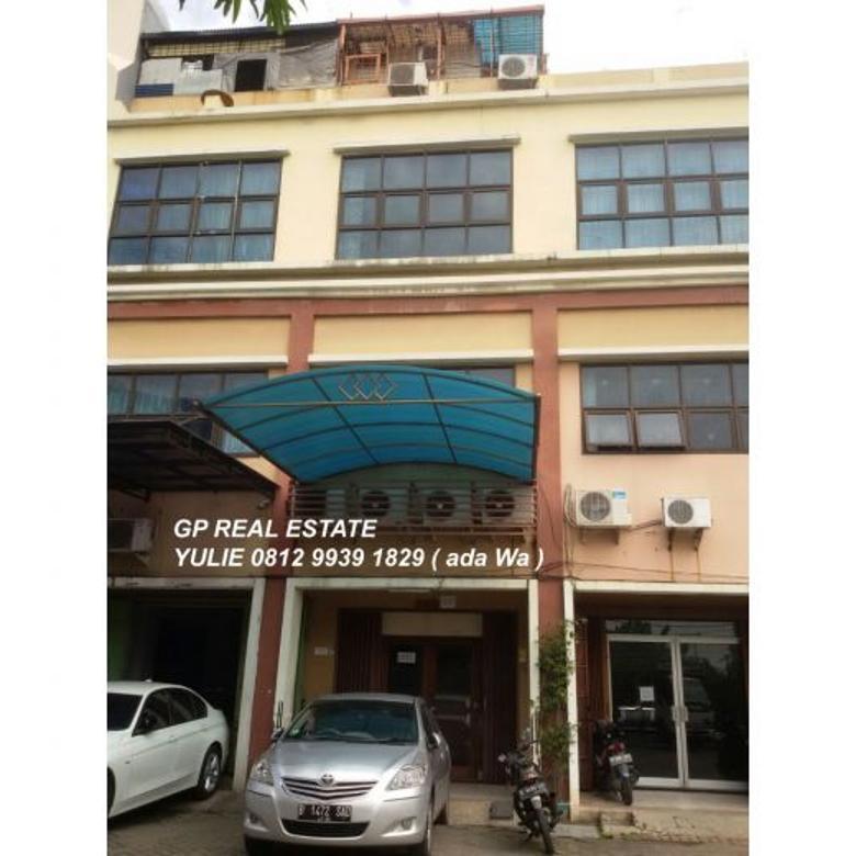 Dijual Ruko Tampak Siring Daan Mogot 4lt Cocok Kantor Komersial 3M ng y682
