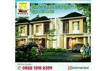 Dijual Rumah baru Siyap bangun Di Perumahan Realestate