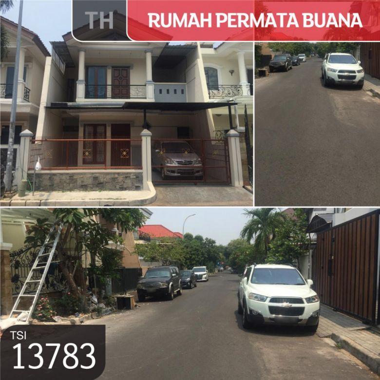 Rumah Permata Buana, Jakarta Barat, 8x18m, 2 Lt, SHM
