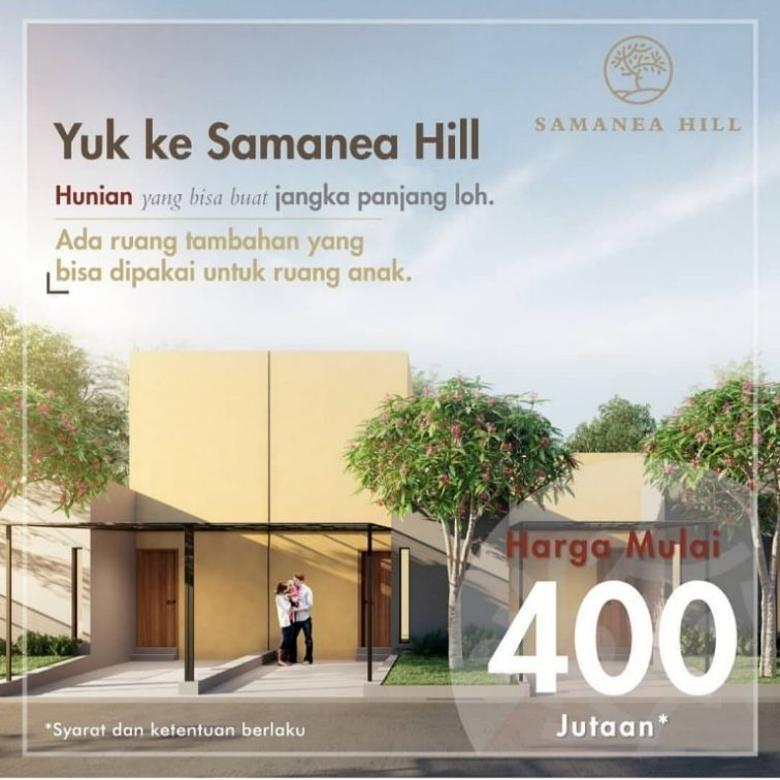 Dijual Rumah Designer Andra Matin 3Jtaan/bulan