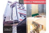 Gedung di Jl.Pembangunan 1, Petojo Utara, Jakarta Pusat, 505m, 7 Lt