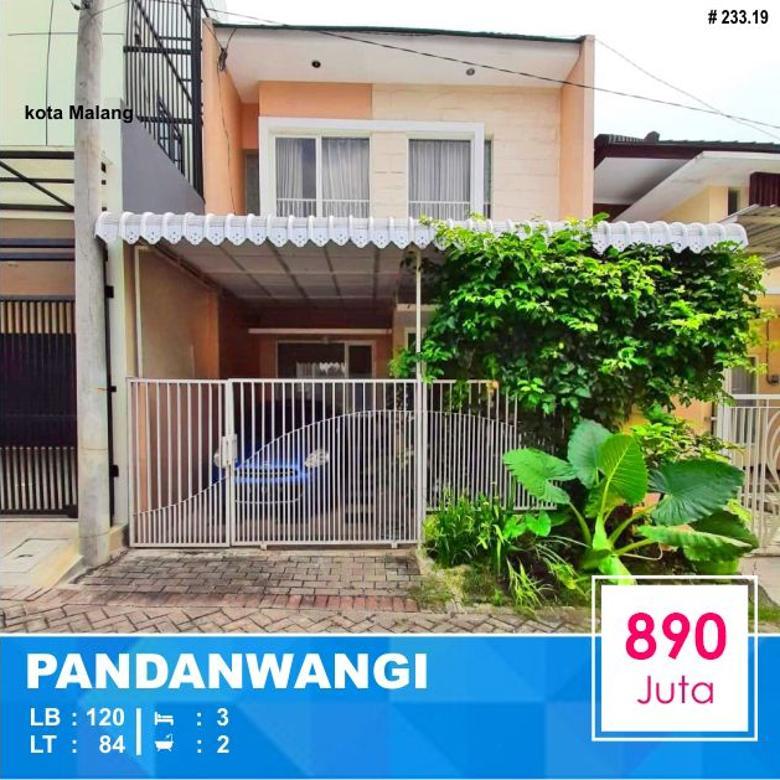 Rumah Murah 2 Lantai di Sulfat Pandanwangi Malang _ 233.19