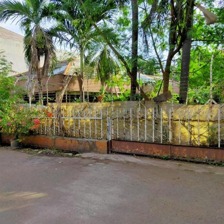Rumah Tua Hitung Tanah Luas, Harga di Bawah NJOP, Kebayoran Baru.