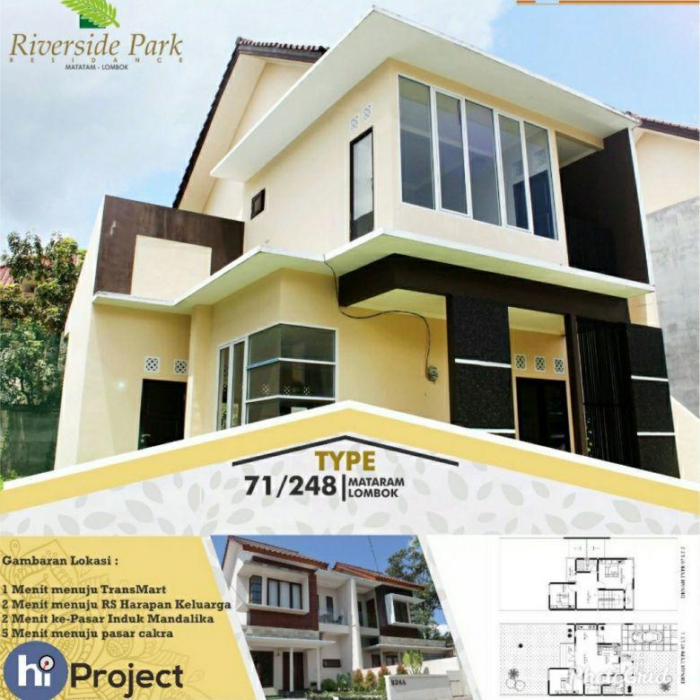 Perumahan elit Riverside Park Residence Cakranegara R119