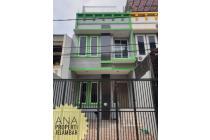 Rumah uk 5x15m Lokasi Nyaman Jalan Lebar di Kavling Polri