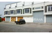 Disewakan Gudang Luas 1250 m2 Jl. Soekarno Hatta Palembang