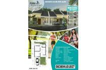 rumah dengan dp 0%,  cukup booking fee 2jt. free. biaya biaya