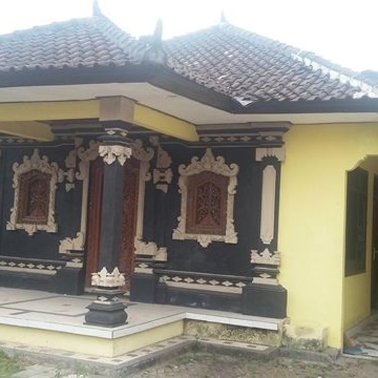 Rumah halaman luas lingkungan asri gatsu barat denpasar