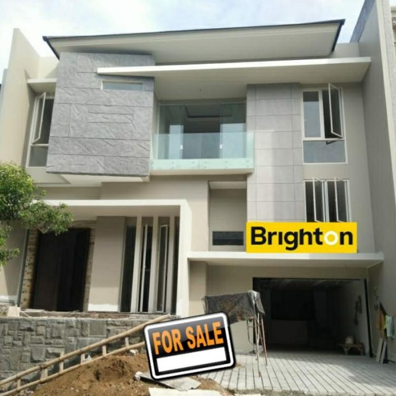 #A0844  Brand New,Luxurius House At water Front Citraland 2.5FLOOR  5.5M