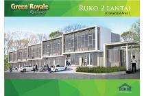 Ruko Baru 2 Lantai di Cluster Mewah, Green Royale Residence, T
