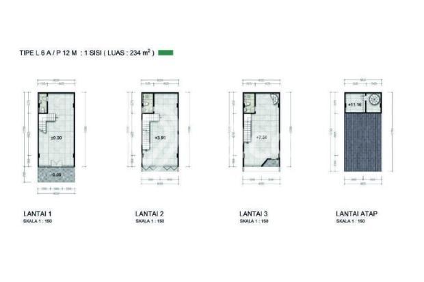 Ruko Baru New East @Jakarta Garden City, Cakung Jakarta Timur 14318532