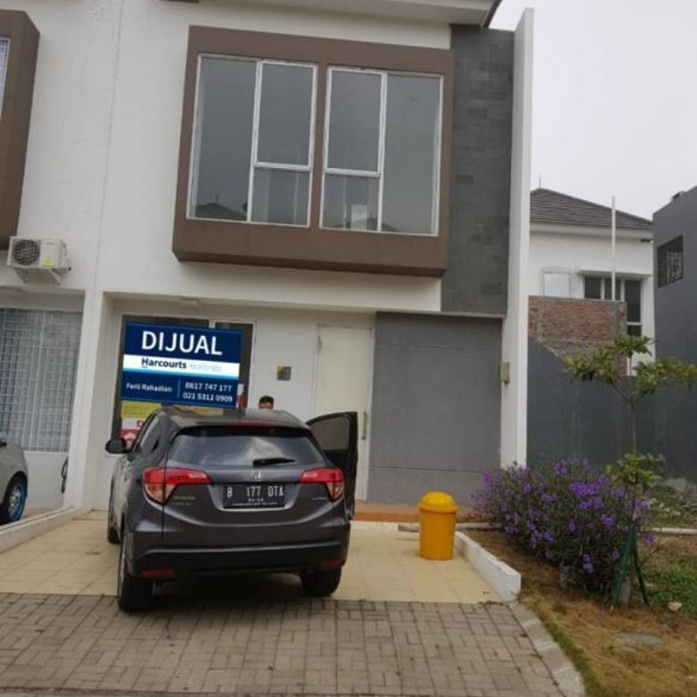 Rumah Baru 2 Lantai Graha Raya Bintaro Fortune terrace