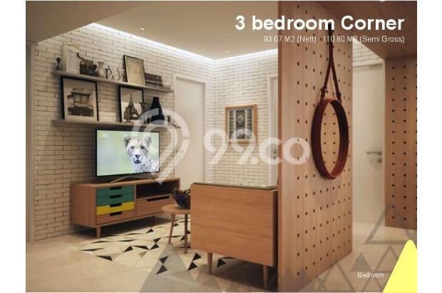 Dijual Apartemen Baru 3BR Murah Strategis di Skandinavia TangCity Tangerang 13132432