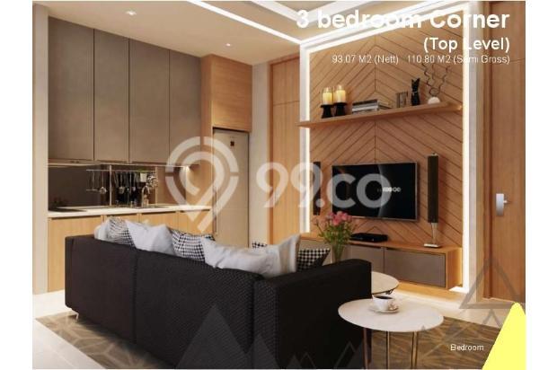 Dijual Apartemen Baru 3BR Murah Strategis di Skandinavia TangCity Tangerang 13132435